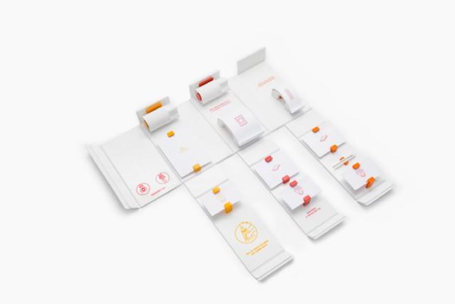 First Aid Kit Design by Gabriele Meldaikyte