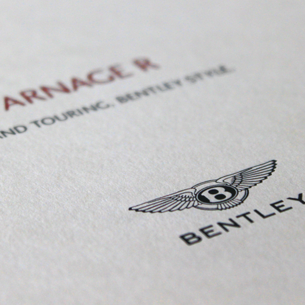 Bentley Arnage R Brochure