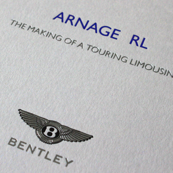 Bentley Arnage RL Brochure