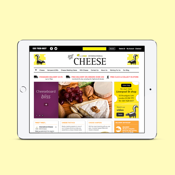 International Cheese Website